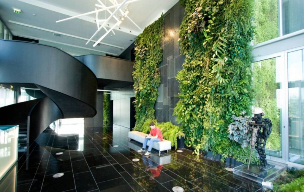 Cool Vertical Garden